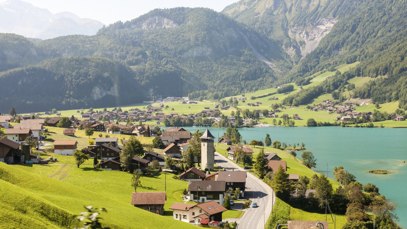 Top 5 places to visit in Switzerland